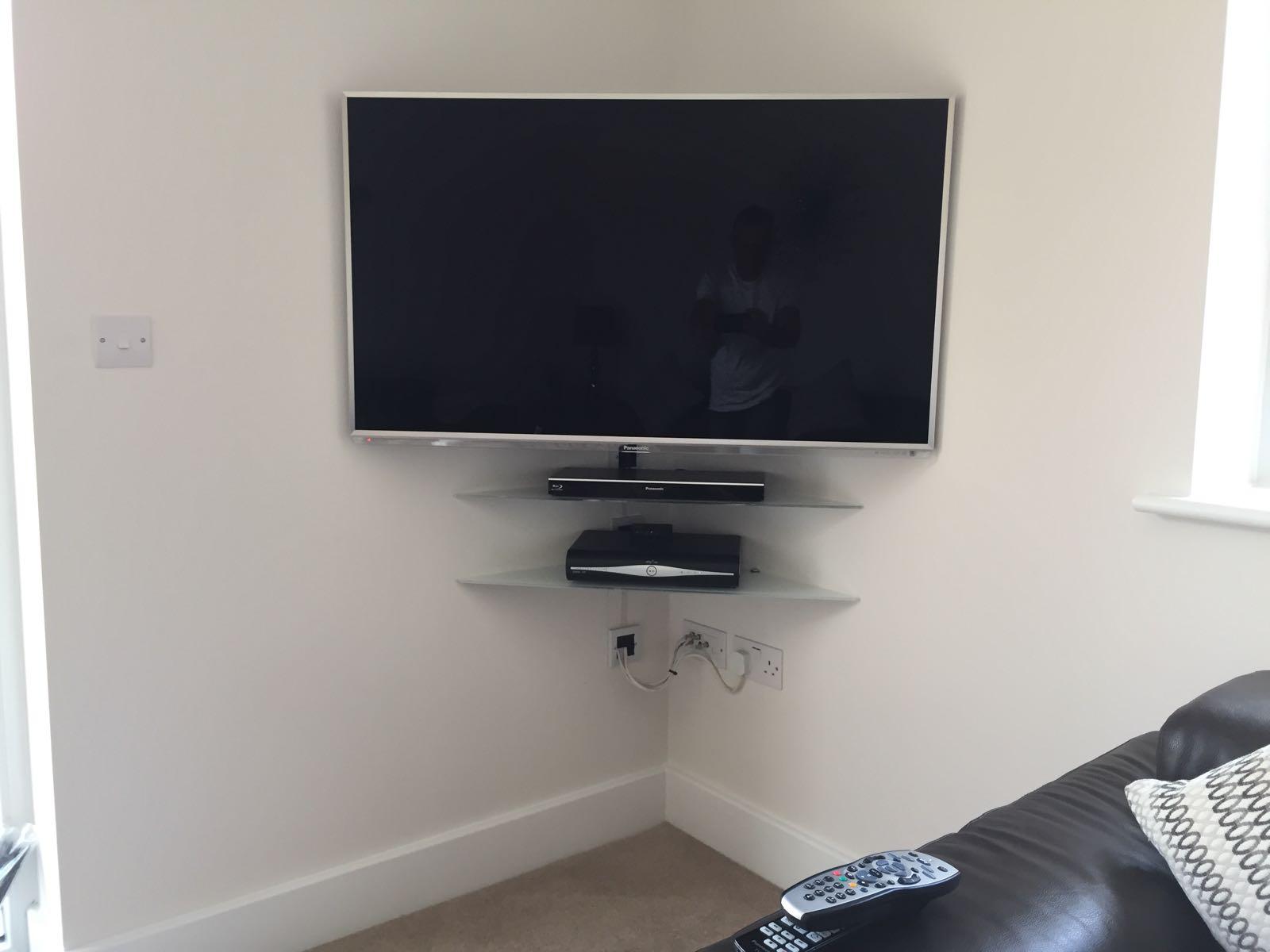 Panasonic TV and SKY Satellite Install in Brightlingsea Essex