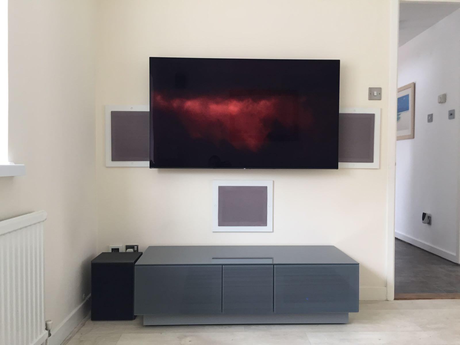 LG OLED TV Install in Dunmow Essex